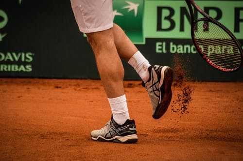 Clay court shoe