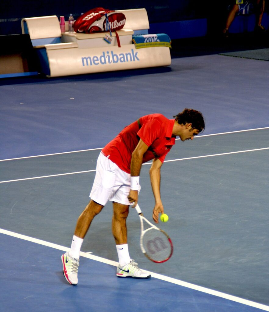 Roger playing at AO - Hard vs. Clay vs. Grass Court Shoes