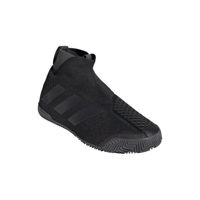 Adidas Stycon Clay Court Shoe - Black Tennis Shoes