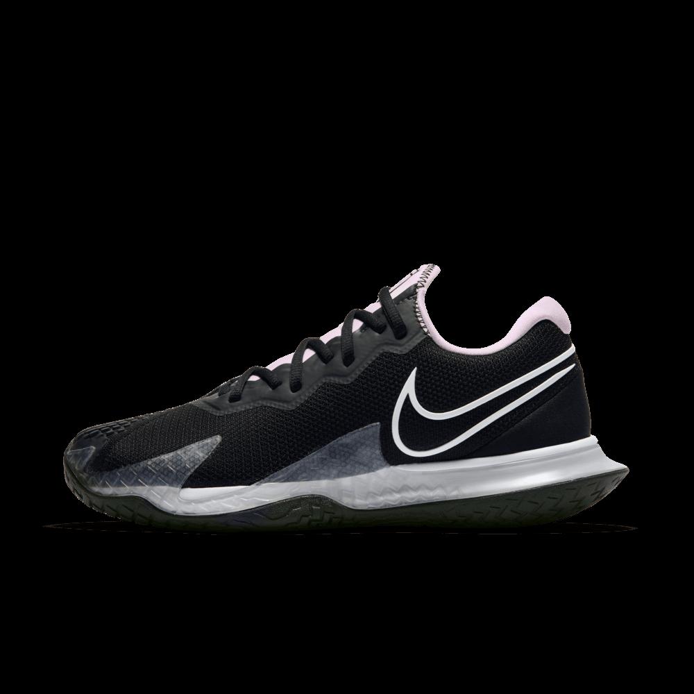 Women Nike Court Air Zoom Vapor Cage 4 - Black Tennis Shoes