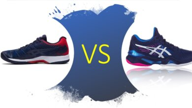 Asics Court FF2 vs Asics Solution Speed FF