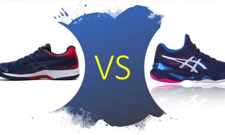 Asics Court FF2 vs Asics Solution Speed FF