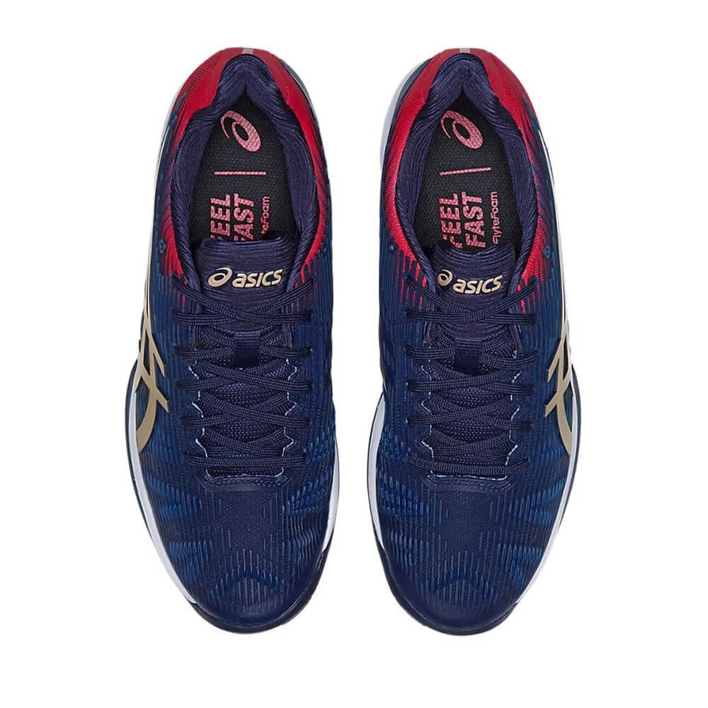 Asics Solution Speed FF lacing system