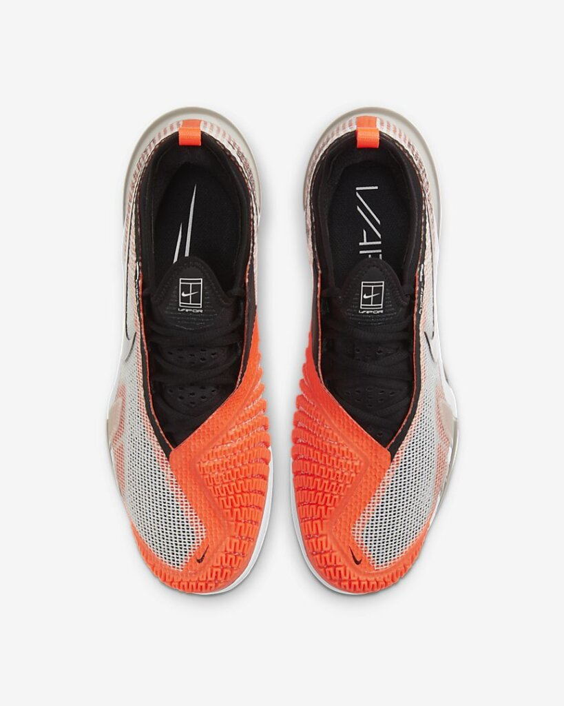 NikeCourt React Vapor NXT outsole
