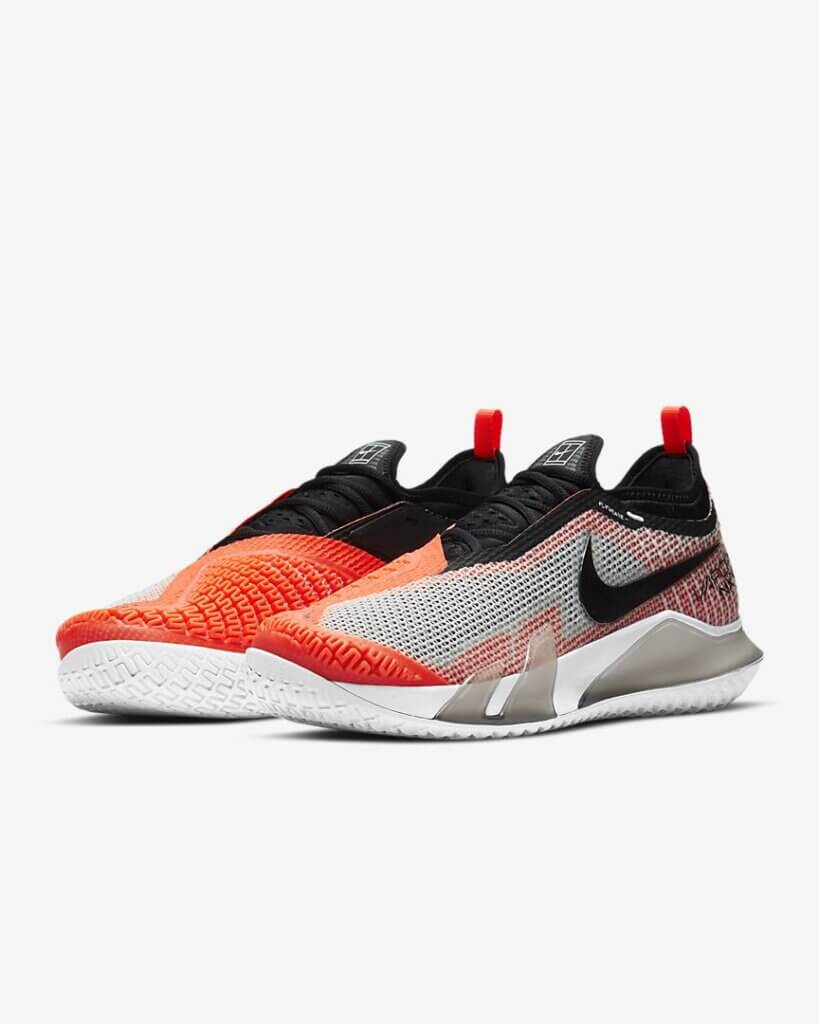 NikeCourt React Vapor NXT upper