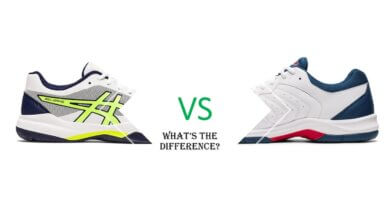 What Is The Difference Between The Asics Gel-Game 7 and Gel-Dedicate 6